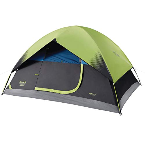 Coleman Dome Tent for Camping | Sundome Tent with Easy Setup for Outdoors Early Light 2 Person Tent