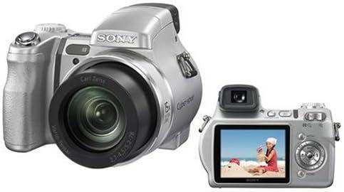 Sony Cyber Shot Dsc H7 Digitalkamera 2 5 Zoll Silber Kamera