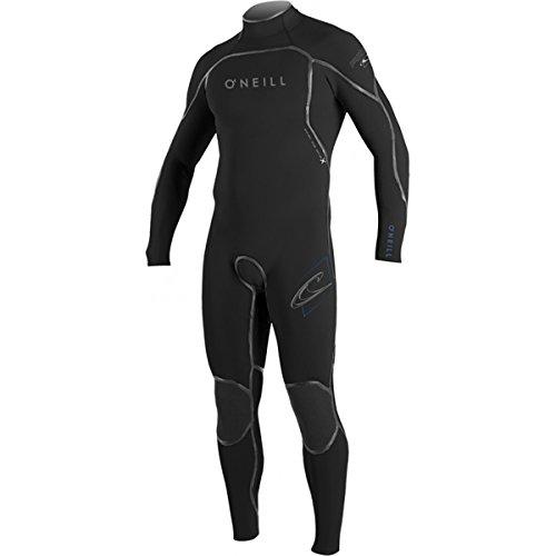 O'Neill Mens Psycho 1 Zen-Zip 3/2 Fsw Wetsuit, Black/Black/Black, Small