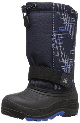 [Kamik Kids' Rocket2 Snow Boot, Navy, 4 M US Big Kid] (Boys Boots Sale)