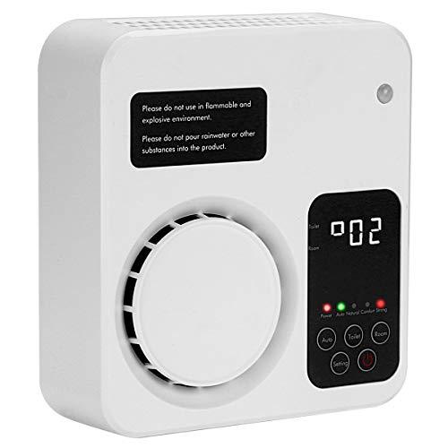🥇 Tunume Generador de ozono ionizador de purificador de Aire para el hogar para el Dormitorio y el Inodoro de la Oficina de Kichen