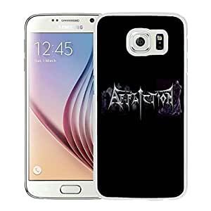 New Custom Designed Samsung Galaxy S6 Phone Case With Affliction 1 White Phone Case