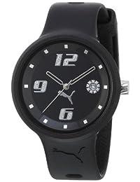 Puma Women's Slick 3-Hand-Date Black Watch PU910672001