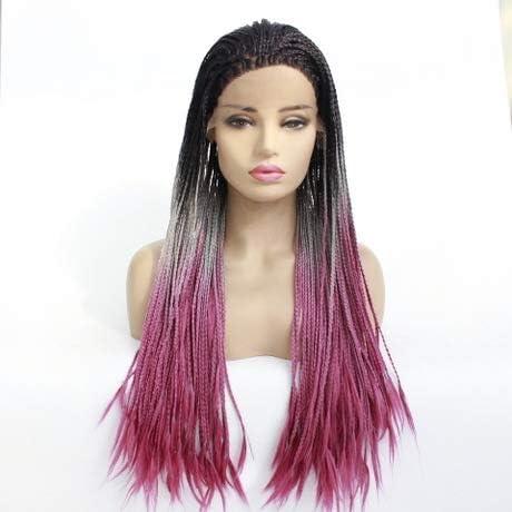 Las mujeres rayita natural Nueva trenzas peinado Caja de Micro ...