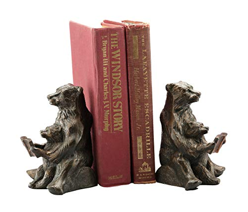 SPI Home Bear Bookends Reading