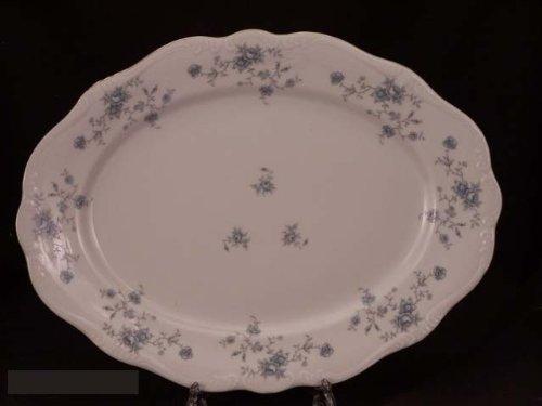 Johann Haviland Blue Garland Platter Small