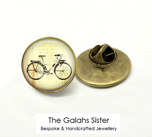 Bike Brooch Pin - Bicycle Badge • Love Riding • Bike Riding • Cyclist • Bike Racing g • Pin Badge • Brooch • Lapel Pin • Tie Pin • Hat Pin • Gift Under 20 • Made In Australia