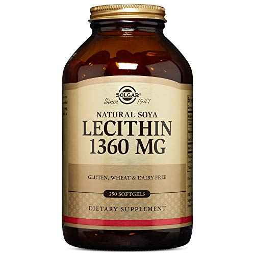 Solgar - Lecithin 1360 mg, 250 Softgels