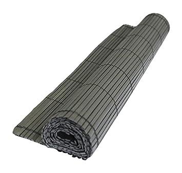Intimo Ecran Composite Type Canisse Plein Haute Qualité PVC Noir ...