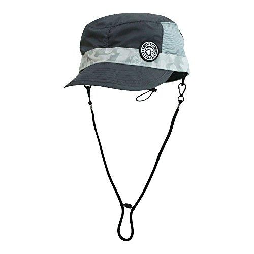 細部結晶ボーダー【TAVARUA/タバルア】プレミアムポケッタブルサーフキャップ TM1004 日本製 サーフハット キャップ 水陸両用帽子 大人