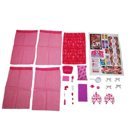- Fisher-Price Barbie 3 Story Dream house - Replacement Stickers