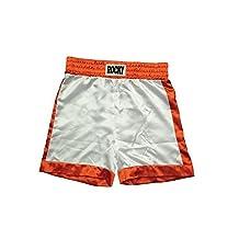 White Boxing Shorts Rocky Balboa