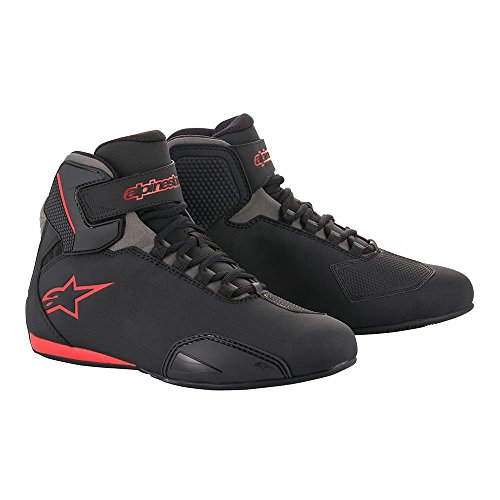 Alpinestars Men's 251551813111 Shoe (Black/Grey/Red, Size 11)