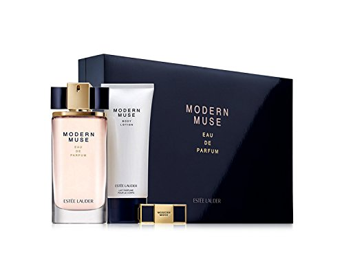 Estée Lauder Modern Muse Luxury Set (Limited Edition) ($184 Value) (Ounce Perfume Solid 0.04)