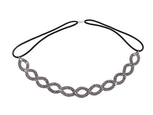 Hairstyles For 1st Communion - Merroyal Fashion Rhinestones Headband Crown For