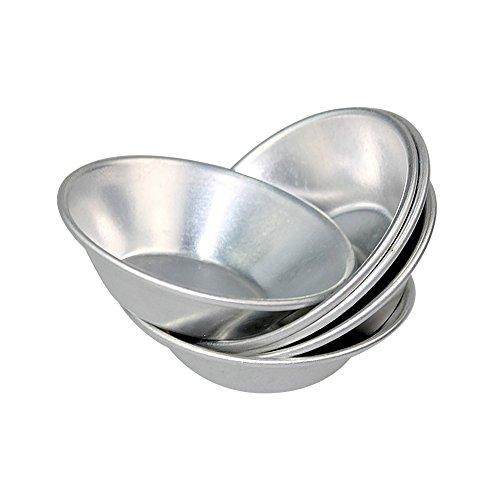 Keysui 24 geanodiseerd aluminium ei taart cupcake cake cake cookie vorm puddingvorm bakken gereedschap