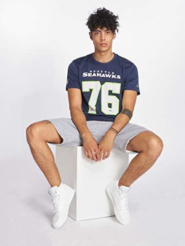 Azul Seattle Camiseta A Seahawks Supporters Nfl New Era FRxwwqSIY0