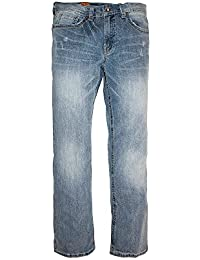 Men's Attawan Relaxed Bootcut Jeans