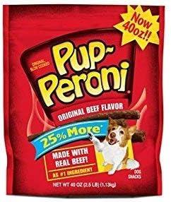Pup-Peroni Original Beef Flavor Dog Snacks, 40-Ounce