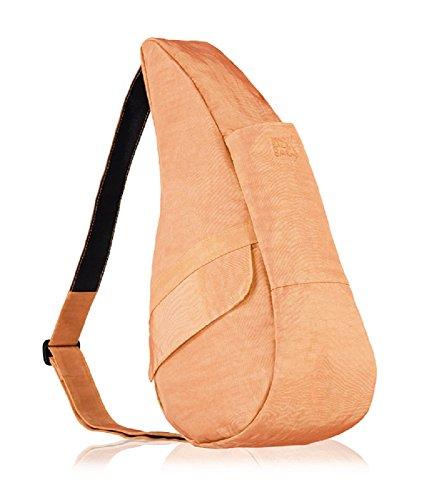 AmeriBag Small Distressed Nylon Healthy Back Bag (Apricot) (Nylon Distressed Healthy Small)