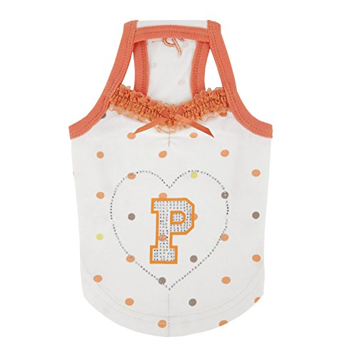Cadence Dog Tank by Puppia - Orange by Puppia