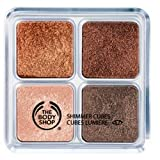 The Body Shop Shimmer Cubes, Palette 06 Chocolate/Brown