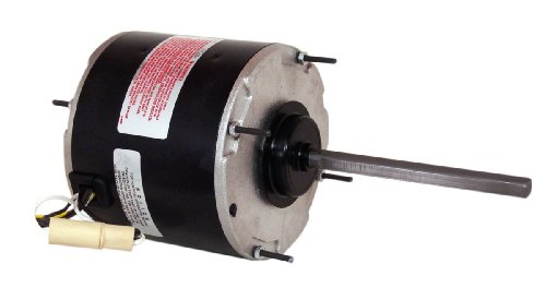 A.O. Smith FSE1026SV1 1/4 HP, 1075 RPM, 208/230 Volts, 1.3-1.8 Amps, 48 Frame, Sleeve Bearing Condenser Motor ()