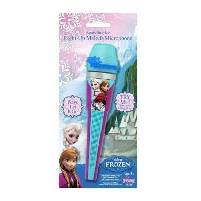 Disney Frozen Toy Microphone | Princess Sing-along Microphone For Kids / Toddlers: Toys & Games