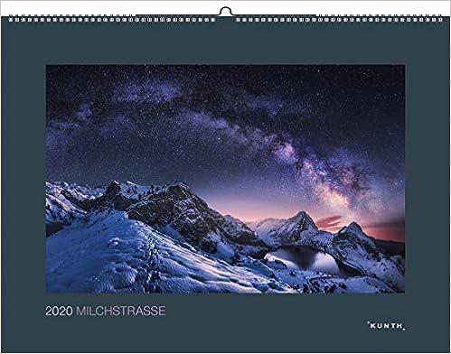 Milchstraße 2020: Wandkalender