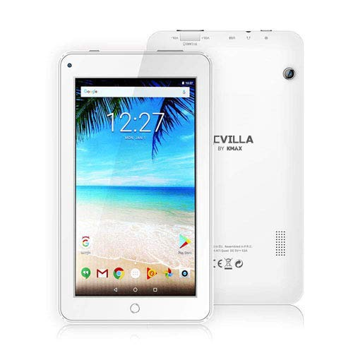 """Price comparison product image ECVILLA KMAX 7"""" Android 7.0 Kids Tablet (1.3GHz Quad Core) IPS Display, 16GB Bluetooth WiFi"""