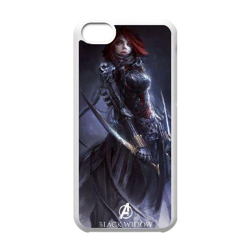 Avengers Age Of Ultron coque iPhone 5C Housse Blanc téléphone portable couverture de cas coque EBDOBCKCO11983