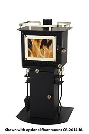 Amazon.com: Cubic CB-1008 estufa de leña en forma de ...