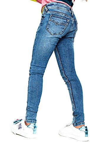 tout neuf f5751 b5ca8 Pepe Jeans Jean slim toile denim bleu stoné ariella ado ...