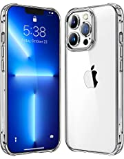 Mkeke Compatible with iPhone 13 Pro Case Clear, Transparent Shockproof Protective Phone Cases for iPhone 13 Pro 6.1 Inch Released 2021
