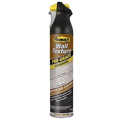 Homax Group 4565 Professional Grade Wall Texture Knockdown Water Based Spray, 25-Ounce