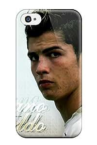 New Fashionable AmandaMichaelFazio QnJNpTF2960IUUBN Cover Case Specially Made For Iphone 5/5s(cristiano Ronaldo Salary)