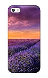 Renee Jo Pinson's Shop Forever Collectibles Sunrise Over The Flower Field Hard Snap-on Iphone 5/5s Case