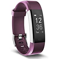 moreFit Fitness Tracker, Slim HR Plus Heart Rate Smart...