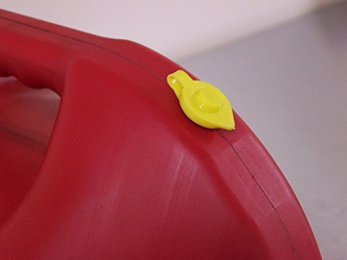 JSP Manufacturing Pick a Pack Yellow Fuel Gas Can Vent Cap Chilton Briggs Rotopax Gott Anchor Multipack Pricing 10 GV-Big-YELLOW-10-FBA