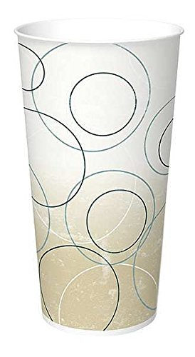 International Paper DMR-22 Cold Cup, Champaign Design, 22 oz, Case of 1000 ()