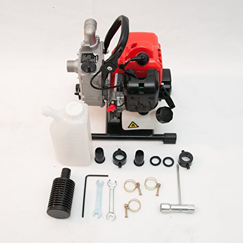 Gas Powered Centrifugal Water Pump, 1.2hp, 31cc Engine, 1