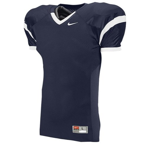 Football Jersey Practice - NIKE ADULT CORE PRACTICE JERSEY (Navy, Large)