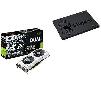 ASUS DUAL-GTX1060-O6G - Tarjeta gráfica (Dual, NVIDIA GeForce GTX 1060