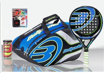Bull Padel - Pack pádel hombre bullpadel hacker: Amazon.es ...