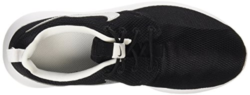 white Roshe Black de GS Mtllc Silver Running Nike One white Zapatillas Niños 6dwq0vR