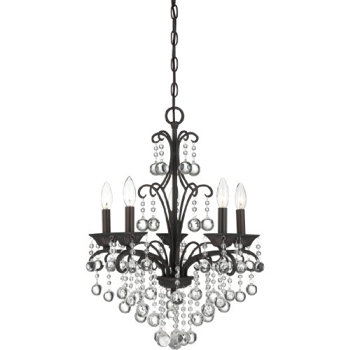 Quoizel QMC1199FR Quoizel Mini Chandelier 5-Light Mini Chandelier, French - French Quoizel Lighting Wall