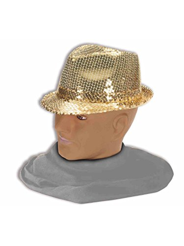 Forum Mardi Gras Costume Party Accessory, Gold, One Size]()