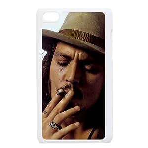 YananC(TM) YnaC231537 Custom Phone Case for Ipod Touch 4 w/ Johnny Depp