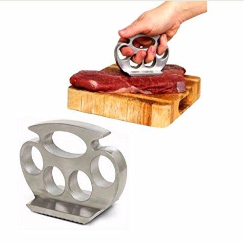 Lalang Küche Tool Lose Fleisch Hammer Fleischzartmacher Klopfen Fleischhammer