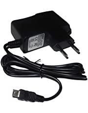 vhbw 220 V voeding oplader oplaadkabel (2A) met mini-USB compatibel met Garmin Zumo 340, 340 LM, 390, 390 LM, 660, 660LM